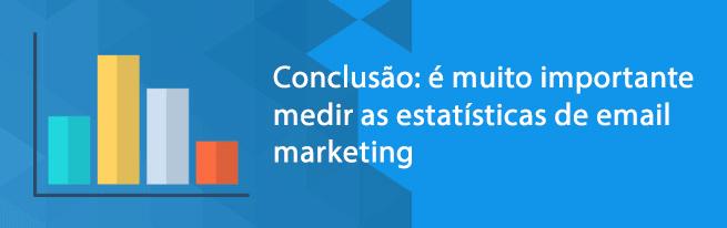 Estatísticas de email marketing
