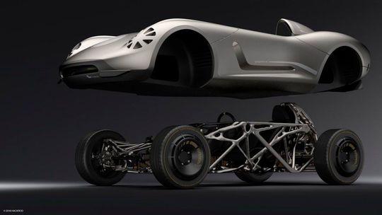 futuro da impressão 3d carro